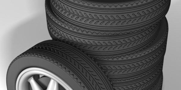 Tire - 3d render